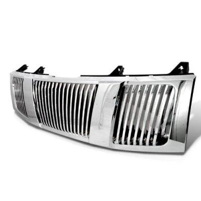 Nissan Armada 2005-2007 Chrome Vertical Grille