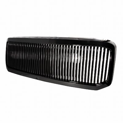 Ford F250 Super Duty 2005-2007 Black Vertical Grille