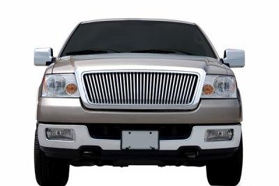 Ford F150 2004-2008 Chrome Vertical Billet Grille
