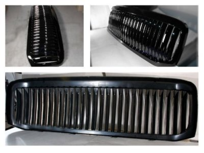 Ford F350 Super Duty 1999-2004 Black Vertical Grille