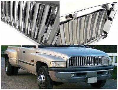 Dodge Ram 1994-2001 Chrome Vertical Grille