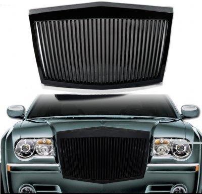 Chrysler 300C 2005-2010 Black Phantom Style Vertical Grille