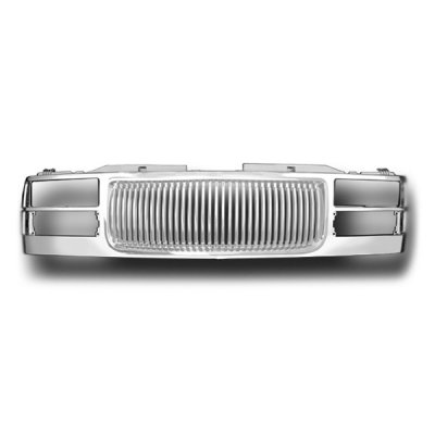 GMC Sierra 1994-1998 Chrome Vertical Grille