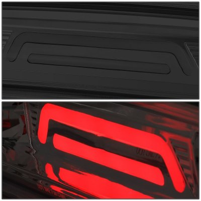 Dodge Ram 2500 2010-2018 Smoked Tube LED Third Brake Light