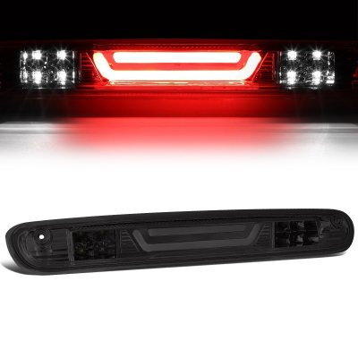 Chevy Silverado 2500HD 2007-2014 Smoked Tube LED Third Brake Light