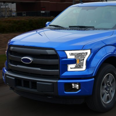 Ford F150 2015-2017 Projector Headlights Tube DRL