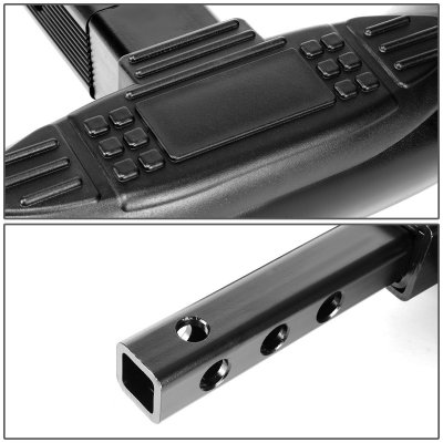 Chevy Silverado 2500HD 2001-2006 Black Receiver Hitch Step