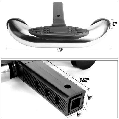 Dodge Ram 2009-2018 Chrome Receiver Hitch Step