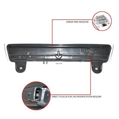 Chevy Suburban 2000-2006 Black LED Third Brake Light