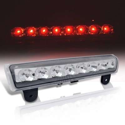 Chevy Suburban 2000-2006 Clear LED Third Brake Light