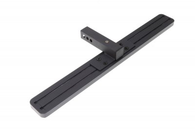 Jeep Wrangler YJ 1987-1995 Receiver Hitch Step Black Aluminum 36 Inch
