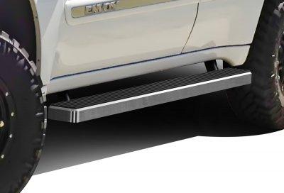GMC Envoy 2002-2006 iBoard Running Boards Aluminum 4 Inch