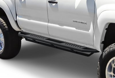 2017 Toyota Tacoma Running Boards >> Toyota Tacoma Double Cab 2016 2017 Iarmor Side Step Running Boards Black Aluminum