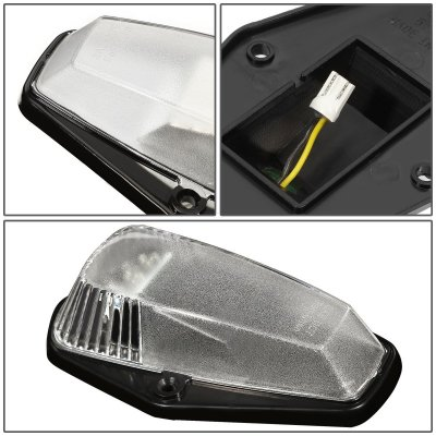 Ford F250 1987-1991 Clear Yellow LED Cab Lights