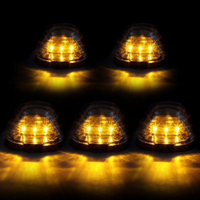 Ford F250 Super Duty 1999-2007 Clear Yellow LED Cab Lights