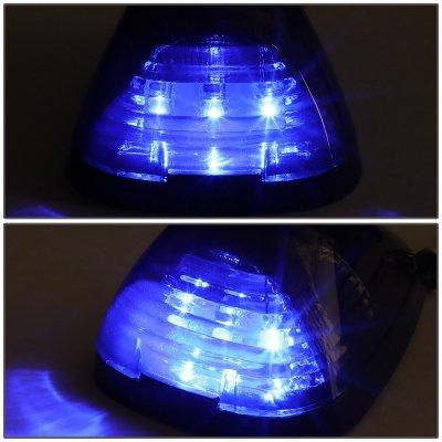 Ford F550 Super Duty 1999-2007 Tinted Blue LED Cab Lights