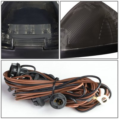 Ford F450 Super Duty 2008-2010 Tinted White LED Cab Lights
