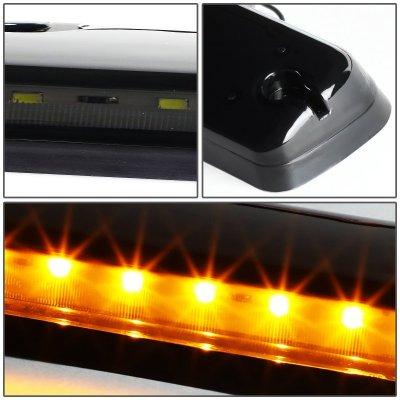 Chevy Silverado 2500HD 2007-2014 Tinted Yellow LED Cab Lights