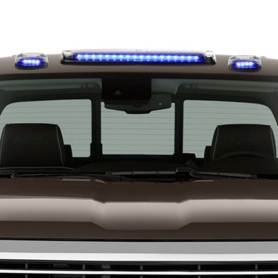 GMC Sierra 2007-2013 Clear Blue LED Cab Lights