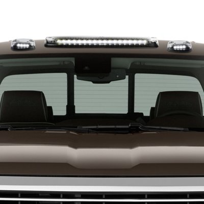 Chevy Silverado 2007-2013 Clear White LED Cab Lights
