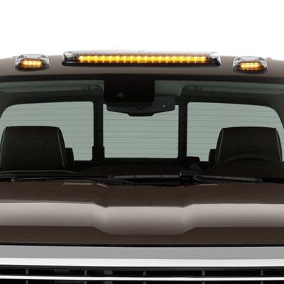 Chevy Silverado 2007-2013 Clear Yellow LED Cab Lights