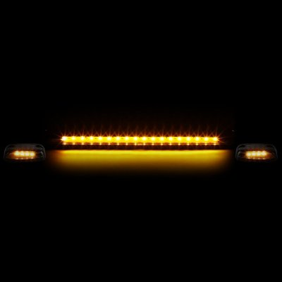 Chevy Silverado 2500HD 2007-2014 Clear Yellow LED Cab Lights