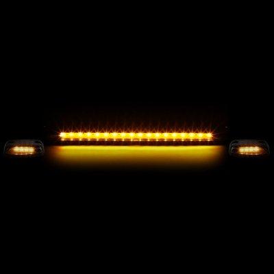 GMC Sierra 2007-2013 Clear Yellow LED Cab Lights