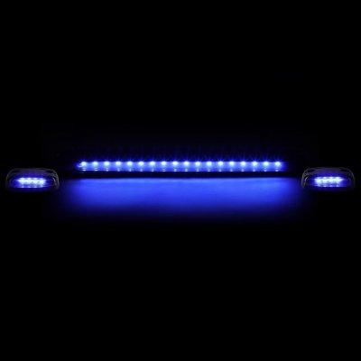Chevy Silverado 2500HD 2007-2014 Tinted Blue LED Cab Lights
