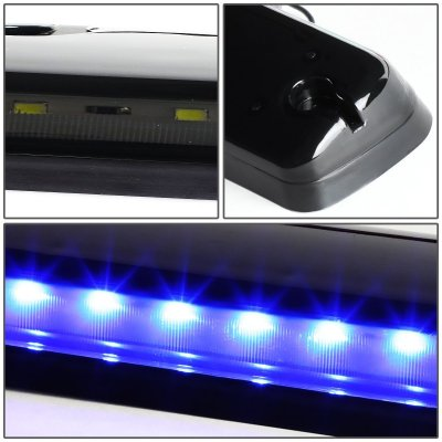 Chevy Silverado 2007-2013 Tinted Blue LED Cab Lights