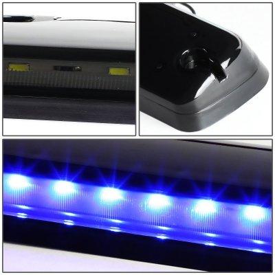 GMC Sierra 2007-2013 Tinted Blue LED Cab Lights