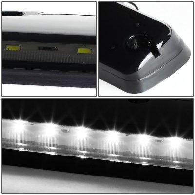 Chevy Silverado 2500HD 2007-2014 Tinted White LED Cab Lights