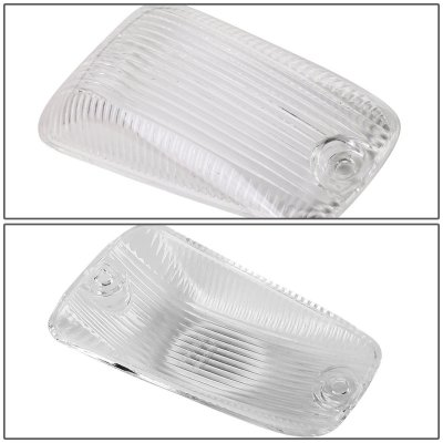 Chevy Silverado 1988-1998 Clear White LED Cab Lights