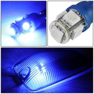 GMC Sierra 1988-1998 Tinted Blue LED Cab Lights