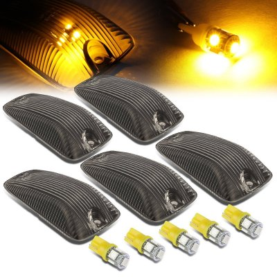GMC Sierra 1988-1998 Tinted Yellow LED Cab Lights