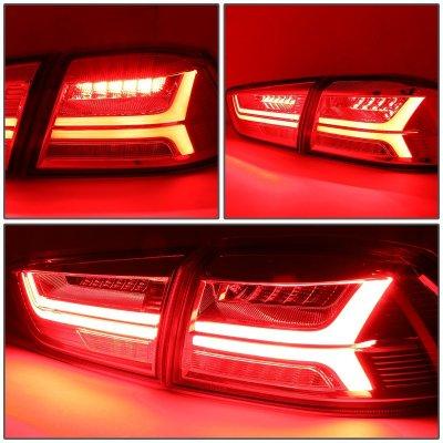 Mitsubishi Lancer 2008-2017 Tube LED Tail Lights