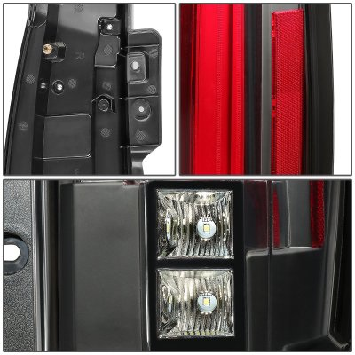 Cadillac Escalade 2007-2014 Full LED Tail Lights Conversion