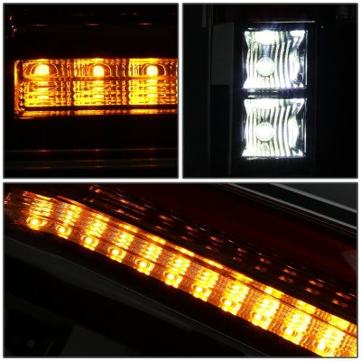 GMC Yukon 2015-2018 Full LED Tail Lights Conversion