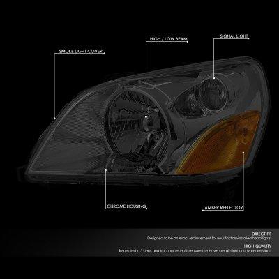 Honda Pilot 2003-2005 Smoked Headlights