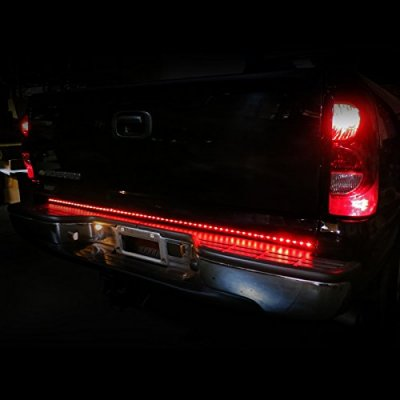 Chevy Silverado 1999-2006 LED Tailgate Light Bar