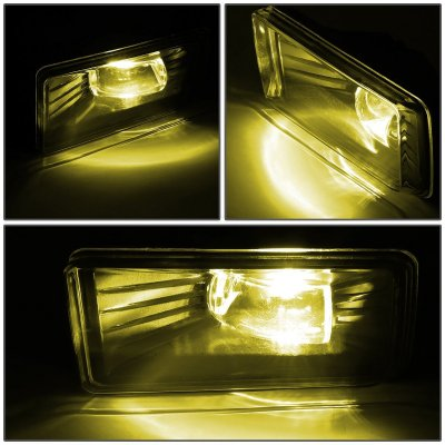 Cadillac Escalade 2007-2008 Yellow LED Fog Lights