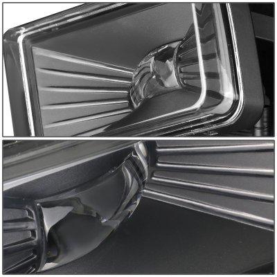 Cadillac Escalade 2007-2008 Clear LED Fog Lights