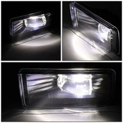Chevy Tahoe 2007-2017 Clear LED Fog Lights