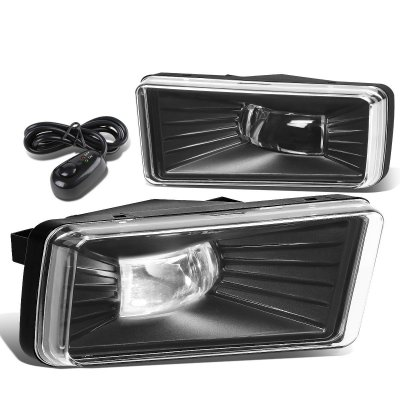 GMC Sierra 2500HD 2007-2014 Clear LED Fog Lights