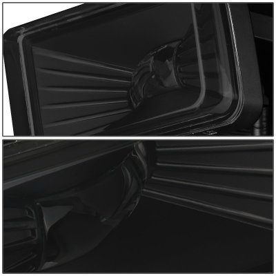 Cadillac Escalade 2007-2008 Smoked LED Fog Lights