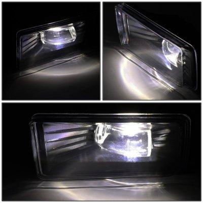 GMC Yukon 2010-2018 Smoked LED Fog Lights