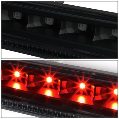 GMC Yukon 2007-2014 Black Smoked LED Third Brake Light