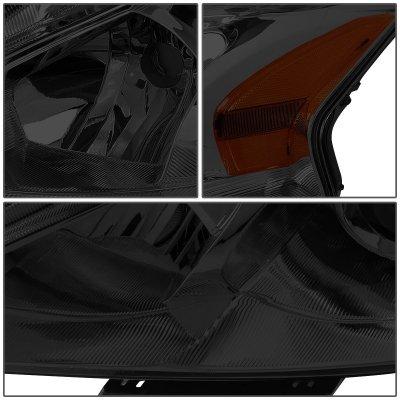 Nissan Altima Sedan 2013-2015 Smoked Projector Headlights