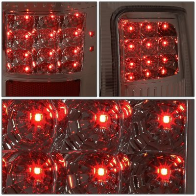 GMC Sierra 2007-2013 Smoked LED Tail Lights