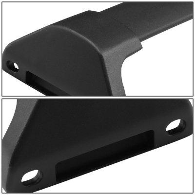 Acura MDX 2014-2018 Black Aluminum Roof Rack Crossbars