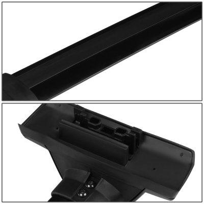 Honda CRV 2007-2011 Black Aluminum Roof Rack Crossbars